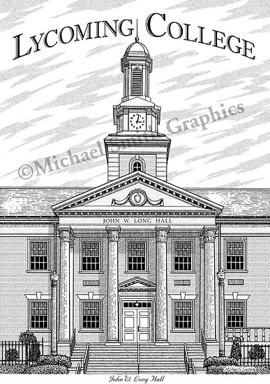 Lycoming College art print by Michael Smith
