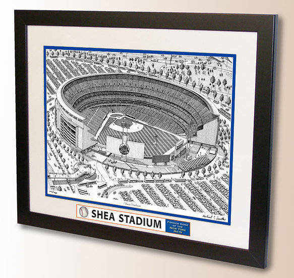 Shea Stadium wall art