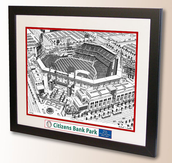 Citizens Bank Park wall art