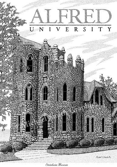 Alfred University art print by Michael Smith