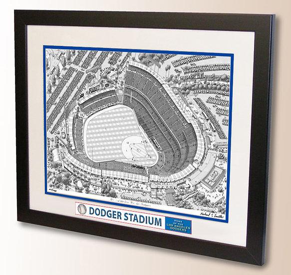 Dodger Stadium wall art