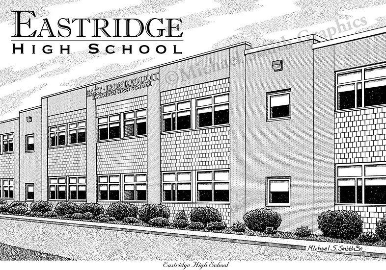 Eastridge High School art print by Michael Smith