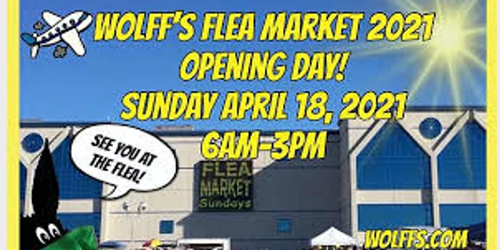 Opening Day Wolff's Flea Market at Rosemont Horizon