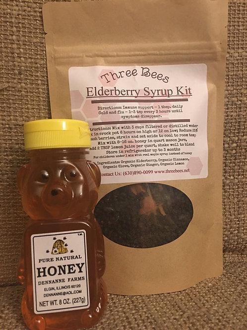 Elderberry Syrup Dry Kit