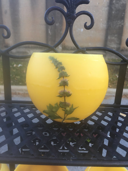 Large Beeswax Luminary