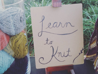 Pressing Knits: A Creative Resolution [A Free Workshop!]