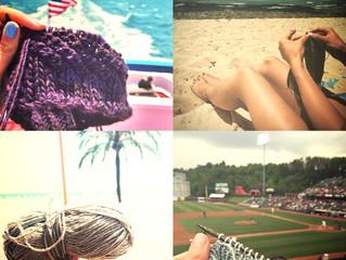 Lovely summer knits of Instagram