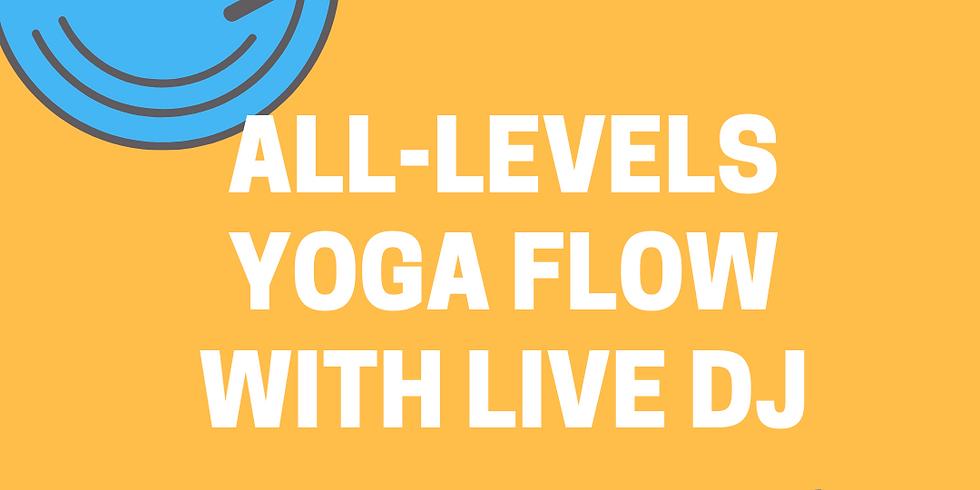 All-Levels Yoga Flow with Live Music from DJ Nick Hud