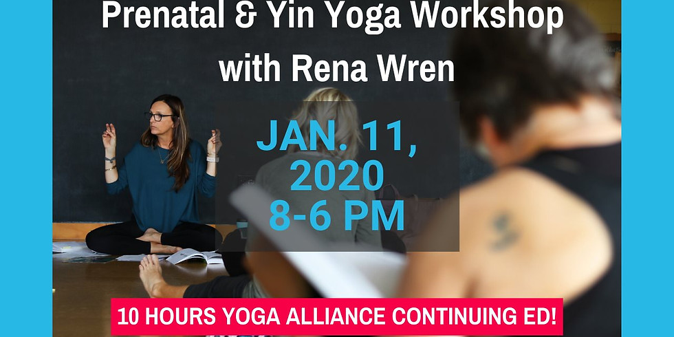 Yin and Prenatal Workshop