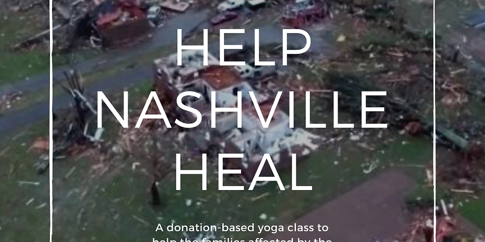 Help Nashville Heal: An All-Levels Donation-Based Yoga Class