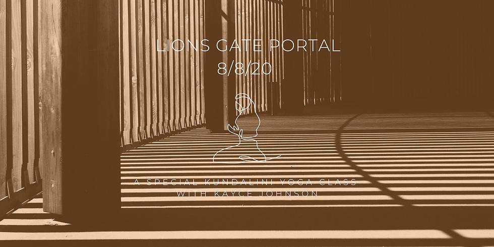 Lions Gate Portal Kundalini Class