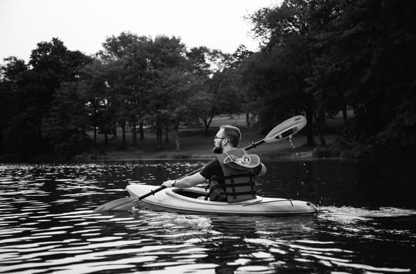 Beards and kayaks