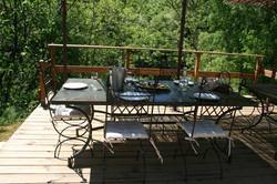 TABLE D HOTES PERGOLA MIRMANDE DROME