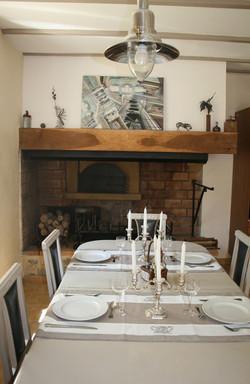 MIRMANDE TABLE D'HOTES REPAS