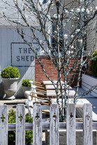 Outdoor Dining at The Shed Restaurant