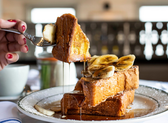 FRENCH TOAST Brunch The Shed restaurant.