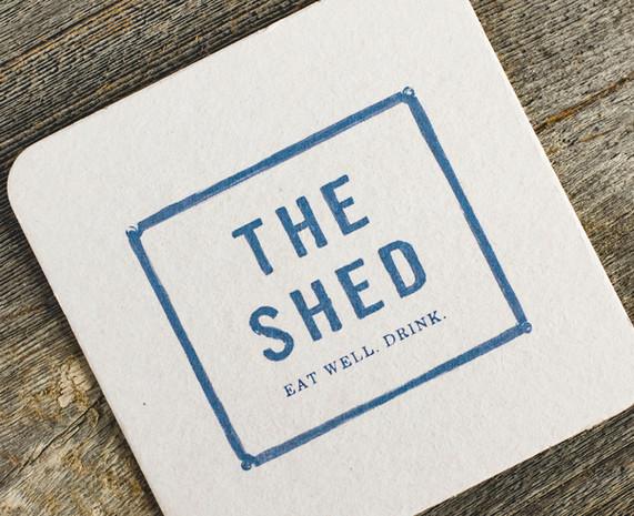The Shed Restaurant Huntington Coaster