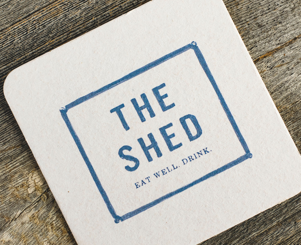 The Shed Restaurant Huntington Coaster