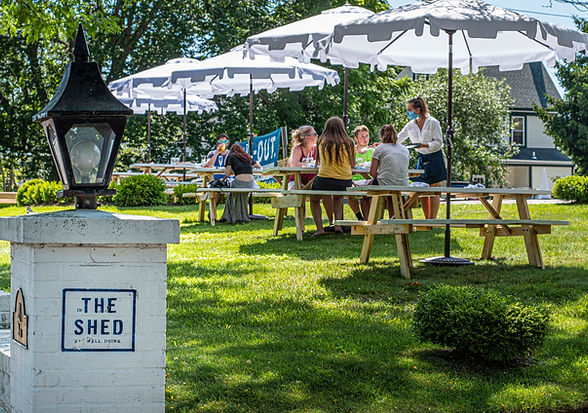 SAYVILLE PATIO outdoor dining Long Islan