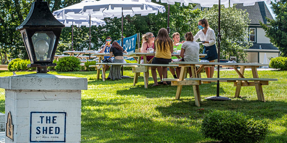 Sayville 4th of July Weekend Brunch In The Shed! + Outdoor Dining