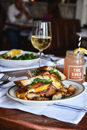 The Shed Egg Sandwich on Long Island