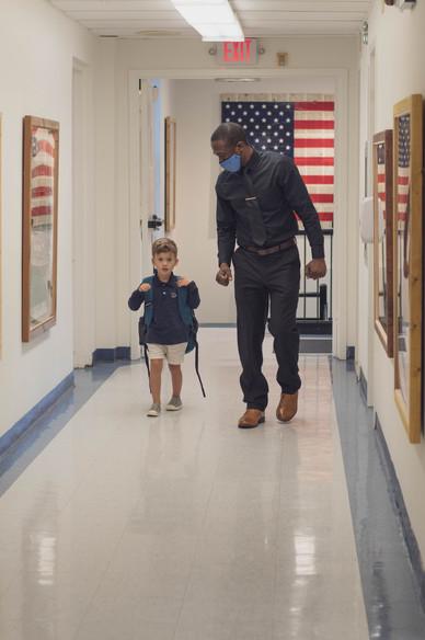 Hallway Flag 4 Kid Mr MichaelThe School