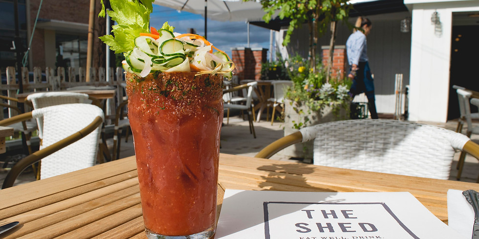 Saturday Brunch #InTheShed on Long Island!