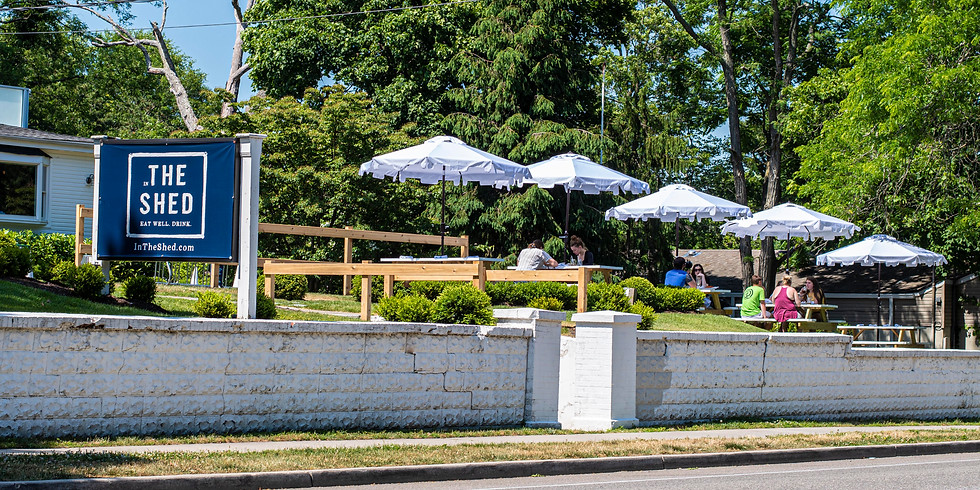 Sayville's Favorite Brunch Spot is In The Shed! + Amazing Outdoor Dining