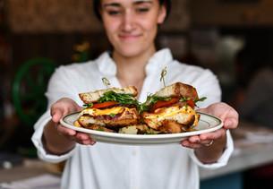 The Shed Restaurant Egg Sandwich