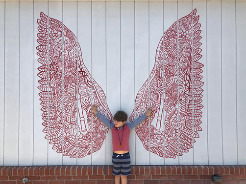 THE SHED WINGS Kids Flying High!