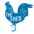 """Rooster Logo Icon """"The Shed"""""""