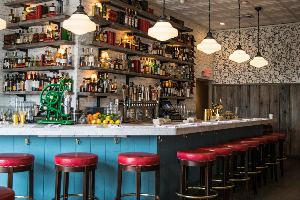The Shed Restaurant Huntington Bar