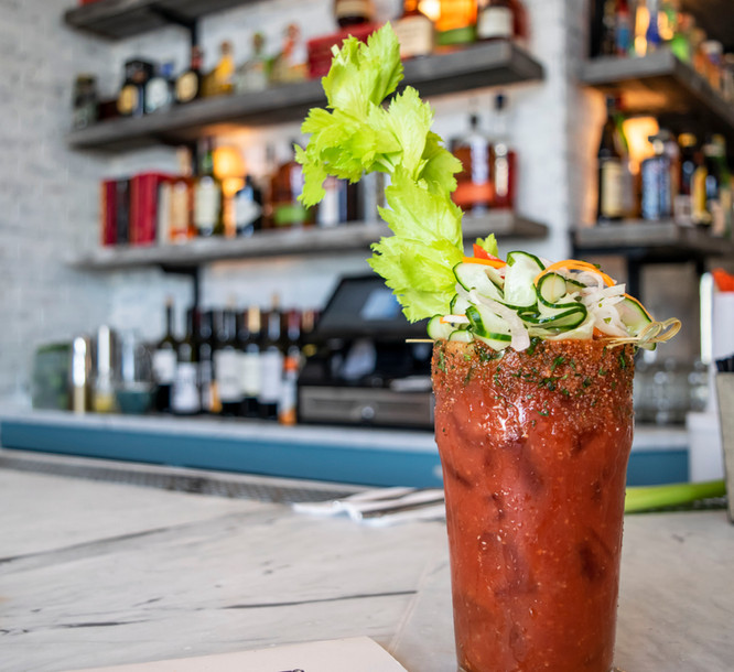The Shed Best Bloody Mary on Long Island