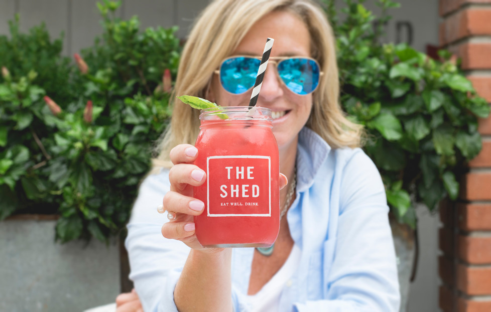 Fresh Juices at The Shed Restaurant Huntington
