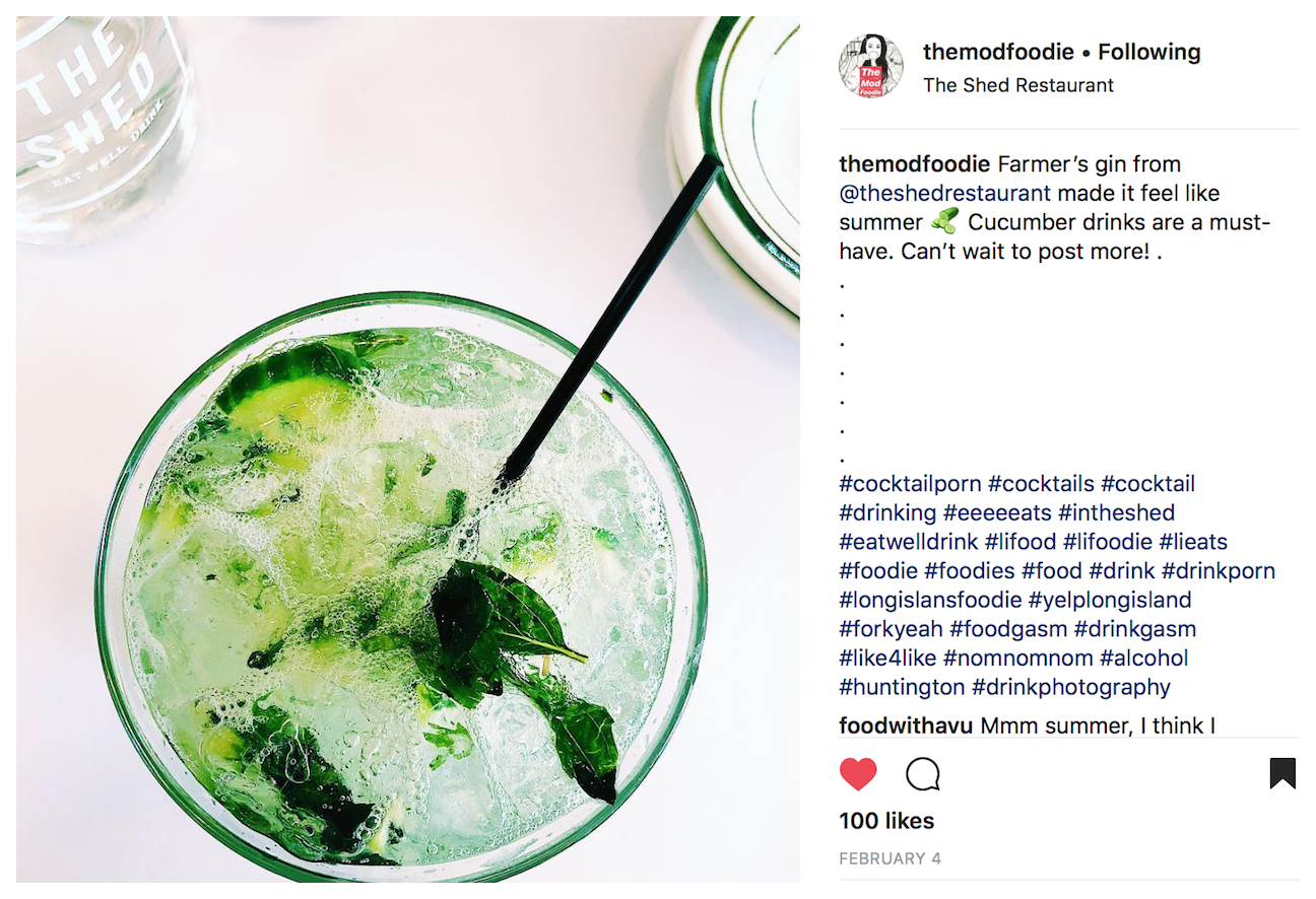 TheModFoodie Instagram