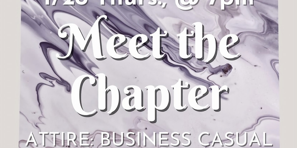 Meet the Chapter