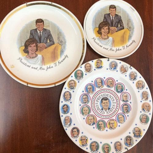 John F.Kennedy collectors plates