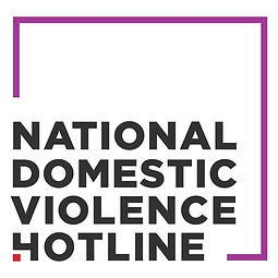 national domestic violence hotline logo.