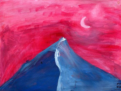 Crimson Sky (print)