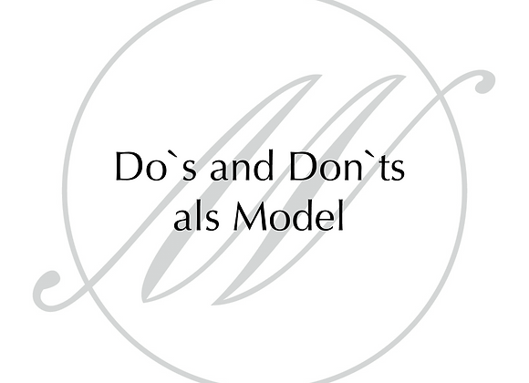 Do`s and Donts als Model