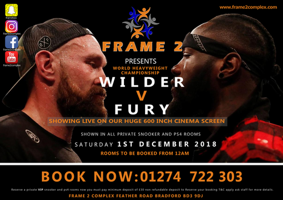 Wilder v Fury Boxing