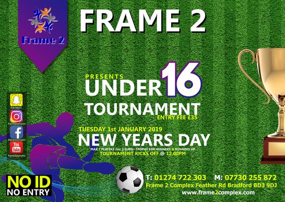 under 16 football tournament
