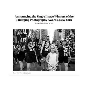 Winner Emerging Photographer Award - Single Image