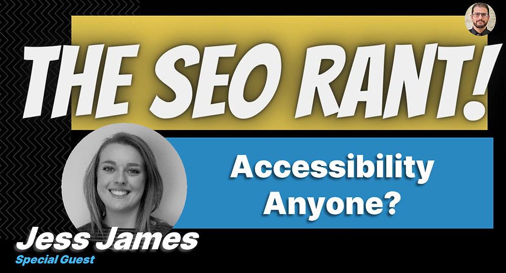 Jess James on the SEO Rant Podcast