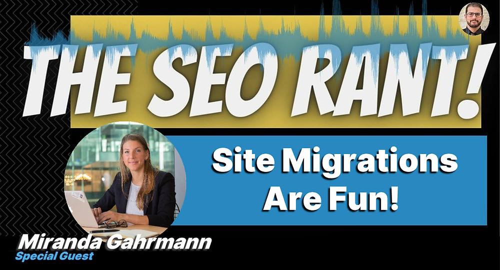 Miranda Gahrmann on the SEO Rant Podcast