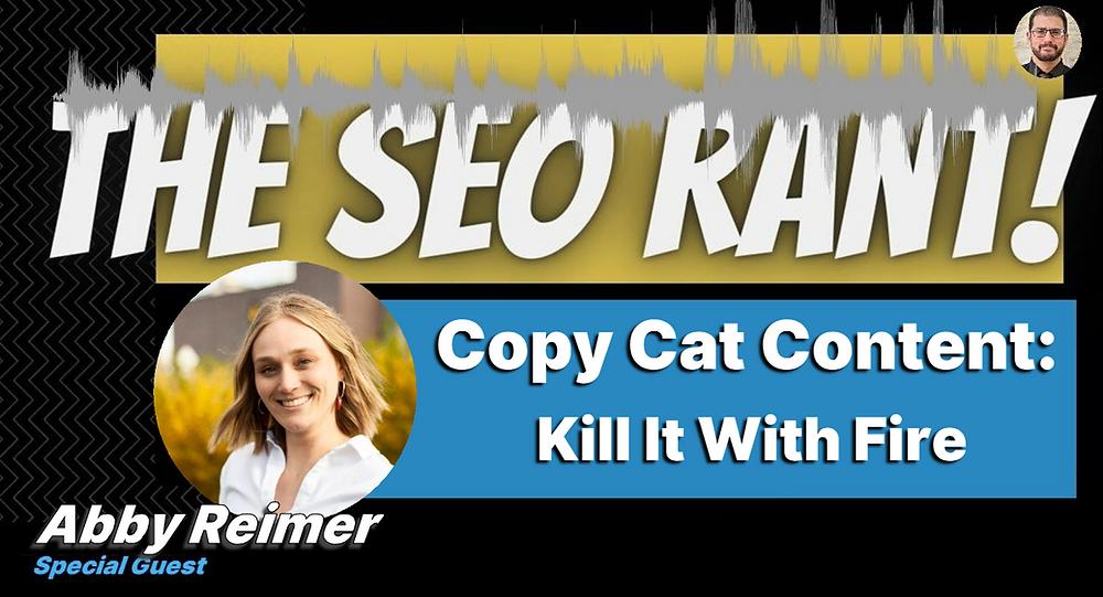 Abby Reimer on the SEO Rant Podcast