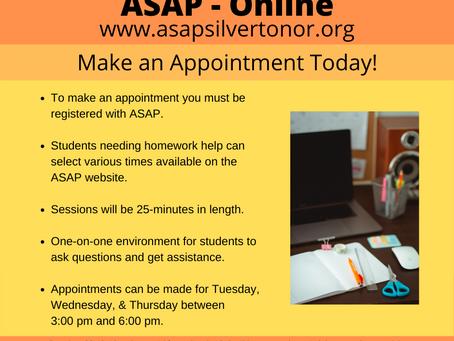 ASAP-Online Update