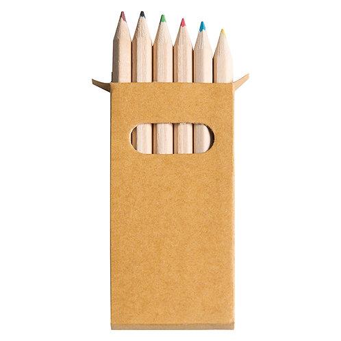 Set di 6 Mini Pastelli