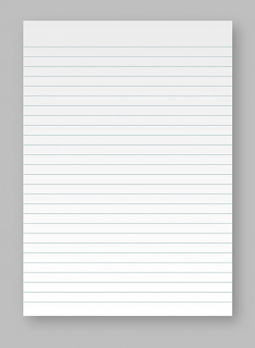 Notes A4 a righe da 20 fogli