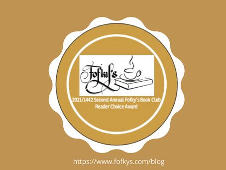 2021/1442 Second Annual Fofky's Book Club Reader Choice Award